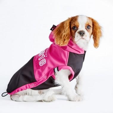 SnowDog softshellová bunda růžova pro psa